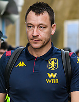 Assistant manager John Terry arriving of the team bus at the Premier League match between Brighton and Hove Albion and Aston Villa at the American Express Community Stadium, Brighton and Hove, England on 18 January 2020. Photo by Edward Thomas / PRiME Media Images.