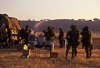 California National Guard training at Camp Roberts