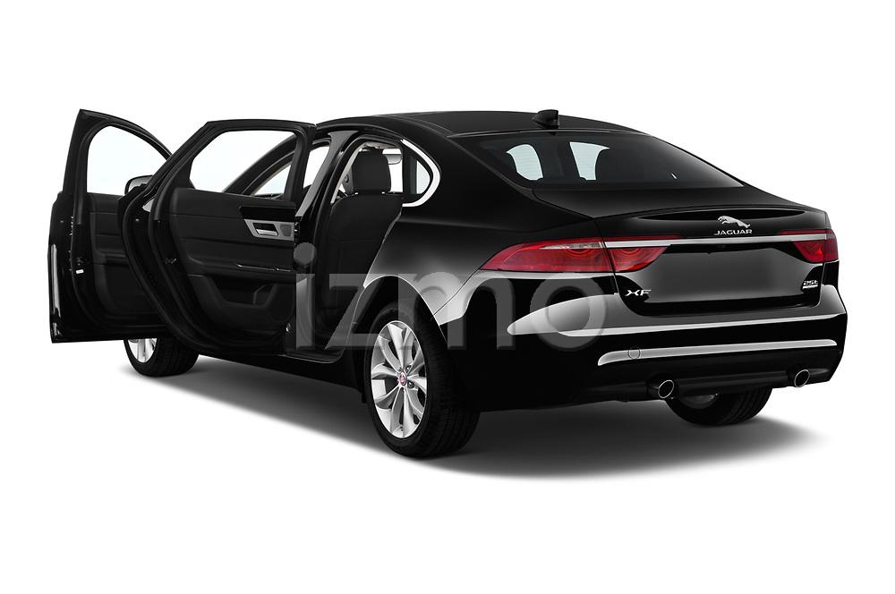 Car images close up view of a 2020 Jaguar XF Premium 4 Door Sedan doors