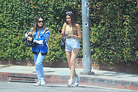 Nicolette Gray Spotted On Melrose