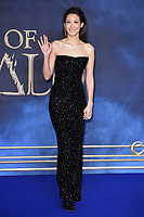 """Claudia Kim<br /> arriving for the """"Fantastic Beasts: The Crimes of Grindelwald"""" premiere, Leicester Square, London<br /> <br /> ©Ash Knotek  D3459  13/11/2018"""