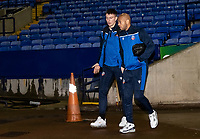 Bolton Wanderers' Billy Crellin (left) and Alex John-Baptiste arriving at the stadium <br /> <br /> Photographer Andrew Kearns/CameraSport<br /> <br /> The EFL Sky Bet League Two - Bolton Wanderers v Mansfield Town - Tuesday 3rd November 2020 - University of Bolton Stadium - Bolton<br /> <br /> World Copyright © 2020 CameraSport. All rights reserved. 43 Linden Ave. Countesthorpe. Leicester. England. LE8 5PG - Tel: +44 (0) 116 277 4147 - admin@camerasport.com - www.camerasport.com
