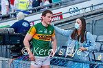 Tadhg Morley, Kerry, Players after the Senior football All Ireland Semi-Final between Kerry and Tyrone at Croke park on Saturday.