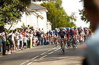 Surrey Classic Cycle Race  Olympic Test event , Weybridge,  Surrey , August 2011 pic copyright Steve Behr / Stockfile