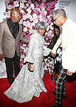 Samuel L. Jackson, Cicely Tyson and LaTanya Richardson Jackson attends the 2016 American Theatre Wing Gala honoring Cicely Tyson at the Plaza Hotel on September 22, 2016 in New York City.