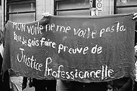Des milliers de personnes marchent contre les  politiques racistes de la CAQ, dimanche 7 octobre 2018<br /> <br /> PHOTO : agence Quebec Presse - Jacques Pharand