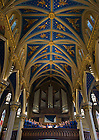 Aug. 25, 2012; Liturgical choir sings at C.S.C. Final Vows...Photo by Matt Cashore/University of Notre Dame
