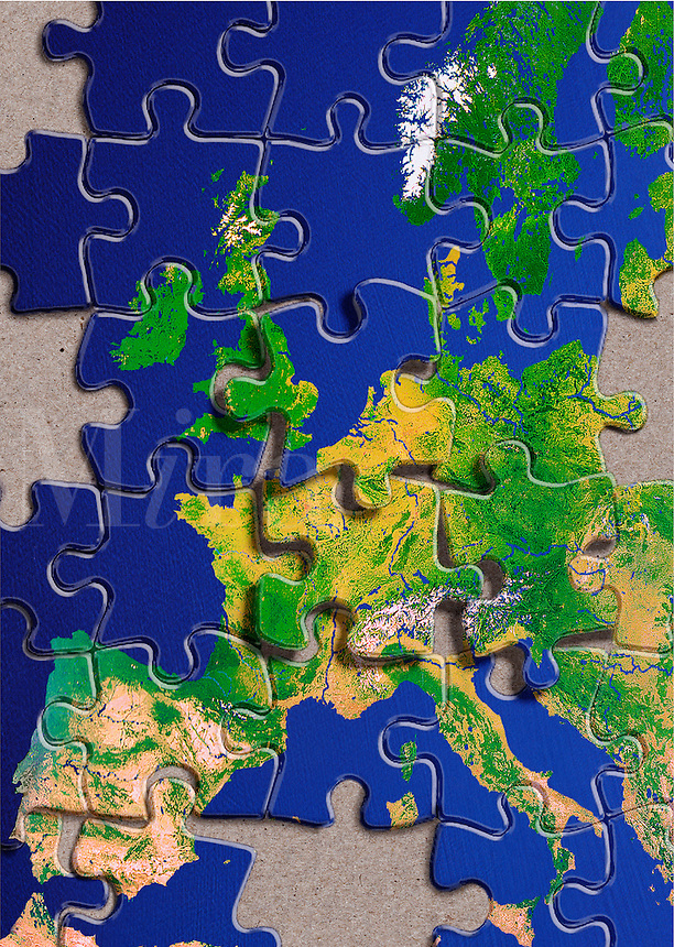 The world as a puzzle.