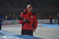 SCHAATSEN: AMSTERDAM: Olympisch Stadion, 09-03-2018, WK Allround, Coolste Baan van Nederland, Bart Schouten (coach CAN), ©foto Martin de Jong
