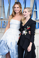"Lily James and Amanda Seyfried<br /> arriving for the ""Mama Mia! Here We Go Again"" World premiere at the Eventim Apollo, Hammersmith, London<br /> <br /> ©Ash Knotek  D3415  16/07/2018"