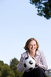 Tonya Antonucci - CEO Womens Professional Soccer: Executive portrait photographs by San Francisco - corporate and annual report - photographer Robert Houser.