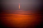 Sunset in Prince William Sound. Alaska. U.S.A.