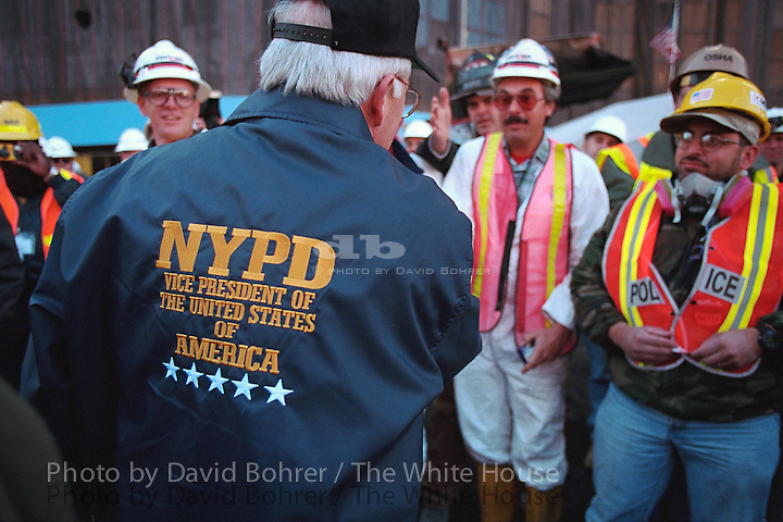 rc: vp trip to ny and tour of ground zero. wtc, ny, ny.