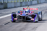 Sam Bird of Great Britain from DS Virgin Racing competes in the Formula E Non-Qualifying Practice 2 during the FIA Formula E Hong Kong E-Prix Round 1 at the Central Harbourfront Circuit on 02 December 2017 in Hong Kong, Hong Kong. Photo by Marcio Rodrigo Machado / Power Sport Images