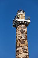 Observation Deck, Astoria Column, Oregon.