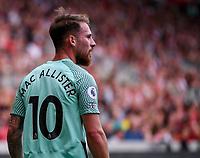 11th September 2021; Brentford Community Stadium, London, England;  Premier League football, Brentford versus Brighton Athletic; Alexis Mac Allister of Brighton