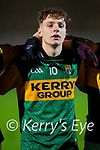 Keith Evans, Kerry during the Munster Minor Semi-Final between Kerry and Cork in Austin Stack Park on Tuesday evening.