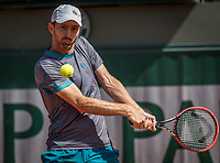 Paris, France, 31 May, 2017, Tennis, French Open, Roland Garros, Man's doubles  Matwe Middelkoop (NED) <br /> Photo: Henk Koster/tennisimages.com