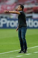 10th February 2021; Beira-Rio Stadium, Porto Alegre, Brazil; Brazilian Serie A, Internacional versus Sport Recife; Sport Recife manager Jair Ventura gestures to his players