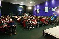Séance du film « Thomas Pequet, envoyé spatial »,<br /> La salle avant le débat