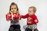WATERBURY, CT- 10 December 2015-121015EC27-  Christmas Kids North. Maci Gagnon, 2, and her sister Lily, 1, are from Winsted. Maci wants a Princess Sofia doll. Erin Covey Republican-American