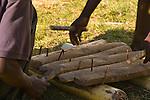Wood xylophone for Gulewamkulu ceremony
