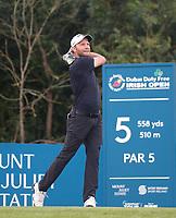 4th July 2021; Mount Juliet Golf Club, Kilkenny, Ireland; Dubai Duty Free Irish Open Golf, Day Four; Maximilian of Germany tees off on the 5th hole