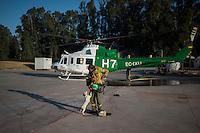 20150726-SPAIN-FOREST FIRE-EL RONQUILLO-SEVILLA-BRICA-INFOCA