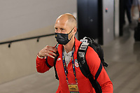 LAS VEGAS, NV - AUGUST 1: United States head coach Gregg Berhalter before a game between Mexico and USMNT at Allegiant Stadium on August 1, 2021 in Las Vegas, Nevada.