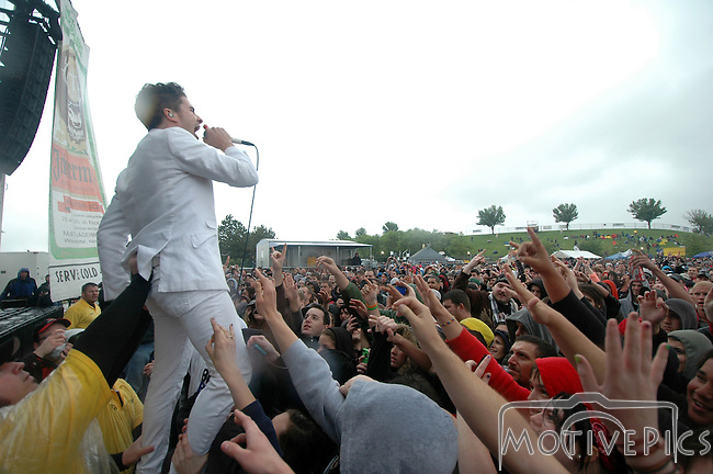 Greek Fire plays Pointfest 28 and rocks the show with an awesome display of crowd surfing.
