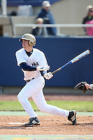 March 21, 2010: Charlie Markson of the Notre Dame Fighting Irish. Photo by: Chris Proctor/Four Seam Images