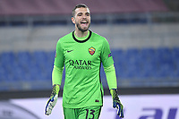 Pau Lopez of AS Roma during the Europa League round of 32 2nd leg football match between AS Roma and Braga at stadio Olimpico in Rome (Italy), February, 25th, 2021. Photo Andrea Staccioli / Insidefoto