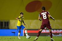 13th November 2020; Morumbi Stadium, Sao Paulo, Sao Paulo, Brazil; World Cup 2022 qualifiers; Brazil versus Venezuela;  Lucas Paquetá of Brazil