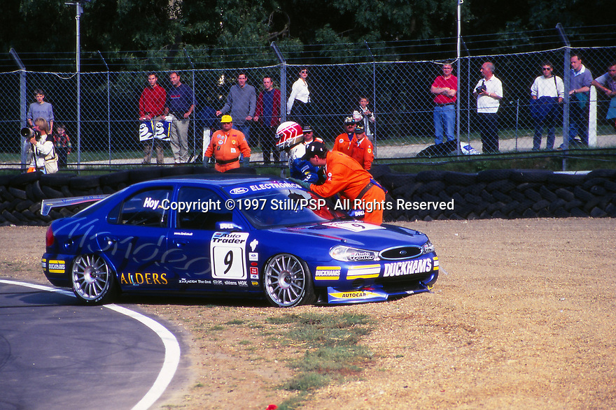 1997 British Touring Car Championship. #9 Will Hoy (GBR). Team Mondeo. Ford Mondeo.