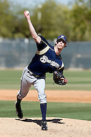 John Axford - Milwaukee Brewers - 2009 spring training.Photo by:  Bill Mitchell/Four Seam Images