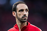 Juan Francisco Torres Belen, Juanfran, of Atletico de Madrid looks on prior to the UEFA Europa League 2017-18 Round of 16 (1st leg) match between Atletico de Madrid and FC Lokomotiv Moscow at Wanda Metropolitano  on March 08 2018 in Madrid, Spain. Photo by Diego Souto / Power Sport Images