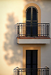 Pix: Shaun Flannery/shaunflanneryphotography.com<br /> <br /> COPYRIGHT PICTURE>>SHAUN FLANNERY>01302-570814>>07778315553>><br /> <br /> Apartment Window<br /> Porta Pollenca<br /> Mallorca