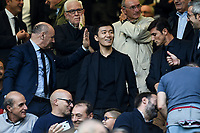Giuseppe Marotta, Steven Zhang, Javier Zanetti <br /> Milano 26/10/2019 Stadio San Siro<br /> Football Serie A 2019/2020 <br /> FC Internazionale - Parma <br /> Photo Image Sport / Insidefoto