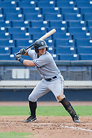 AZL Padres 2 designated hitter Nick Feight (17) at bat against the AZL Brewers on September 2, 2017 at Maryvale Baseball Park in Phoenix, Arizona. AZL Brewers defeated the AZL Padres 2 2-0. (Zachary Lucy/Four Seam Images)