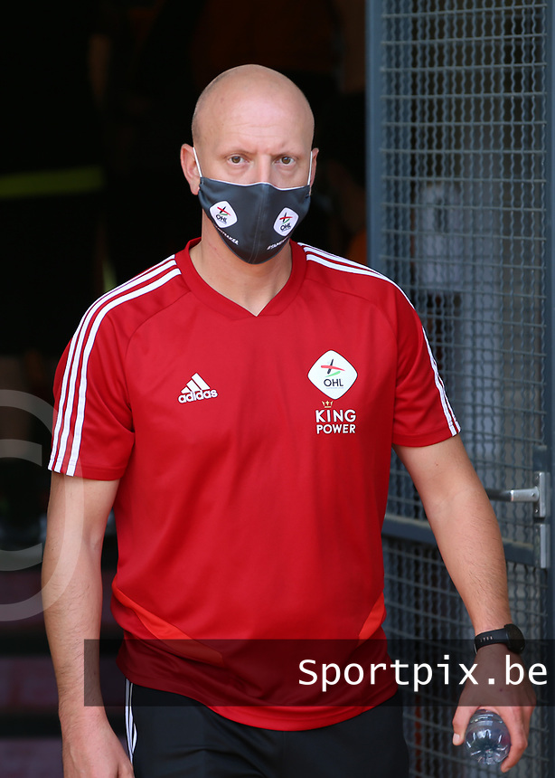 OHL's assistant coach Arno Van Den Abbeel  pictured before a female soccer game between Standard Femina de Liege and Oud Heverlee Leuven on the second matchday of the 2020 - 2021 season of Belgian Scooore Women s SuperLeague , saturday 5 th of September 2020  in Angleur , Belgium . PHOTO SPORTPIX.BE   SPP   SEVIL OKTEM