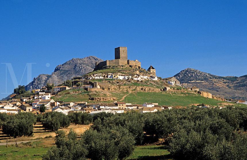 Alcaudete, Jaen, Andalucia, Spain.  14th Century castle rebuilt after the reconquest of Al Andalus.