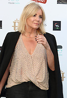 Michelle Collins at the first ever UK Drive-In Film Premiere of 'Break' at Brent Cross in London. This is the first Red Carpet event in the UK since the Covid-19 Pandemic lockdown. The film will be rolled out nationwide in other drive-in venues. Brent Cross, London 22nd July 2020<br /> CAP/ROS<br /> ©ROS/Capital Pictures