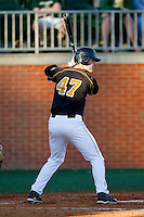 Dane Opel #47 of the Missouri Tigers at bat against the Charlotte 49ers at Robert and Mariam Hayes Stadium on February 25, 2011 in Charlotte, North Carolina.  Photo by Brian Westerholt / Four Seam Images