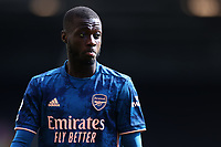 12th September 2020; Craven Cottage, London, England; English Premier League Football, Fulham versus Arsenal; Nicolas Pepe of Arsenal