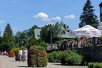 Kurpark in Swieradow Zdroj, Woiwodschaft Niederschlesien (Województwo dolnośląskie), Polen, Europa<br /> Spa Park  in Swieradow Zdroj, Poland, Europe