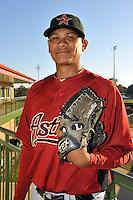 Feb 25, 2010; Kissimmee, FL, USA; The Houston Astros pitcher Wilton Lopez (59) during photoday at Osceola County Stadium. Mandatory Credit: Tomasso De Rosa/ Four Seam Images