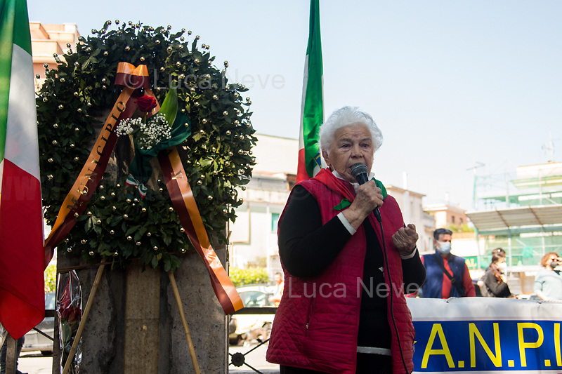 Pina Renzi, daughter of Paolo Renzi, WWII Italian Partizans, Member of the Italian Resistance.<br />