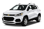 2020 Chevrolet Trax LT 5 Door SUV angular front stock photos of front three quarter view