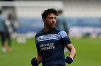 Macauley Bonne of Queens Park Rangers warming up during Queens Park Rangers vs Watford, Sky Bet EFL Championship Football at The Kiyan Prince Foundation Stadium on 21st November 2020