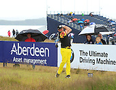 Scott Hend (AUS) during round three of the 2016 Aberdeen Asset Management Scottish Open played at Castle Stuart Golf Golf Links from 7th to 10th July 2016: Picture Stuart Adams, www.golftourimages.com: 09/07/2016